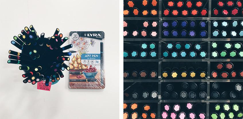 Lyra Art Pens - available individually or in sets of 12, 24 and 36