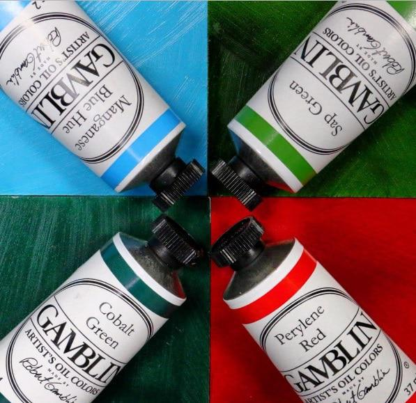 Gamblin Artist Oil 37 ml