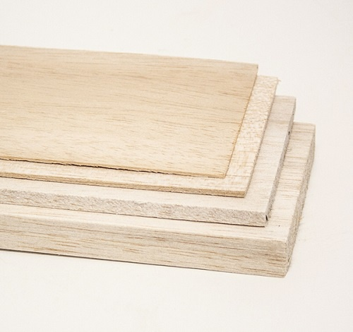Balsa Sheets (Various Sizes)