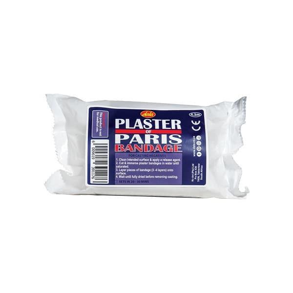Dala Plaster of Paris Bandage - 4.3m